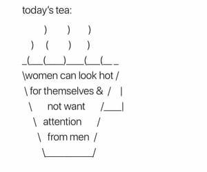 tea and woman image