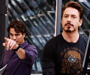 tony stark, Hulk, and Avengers image