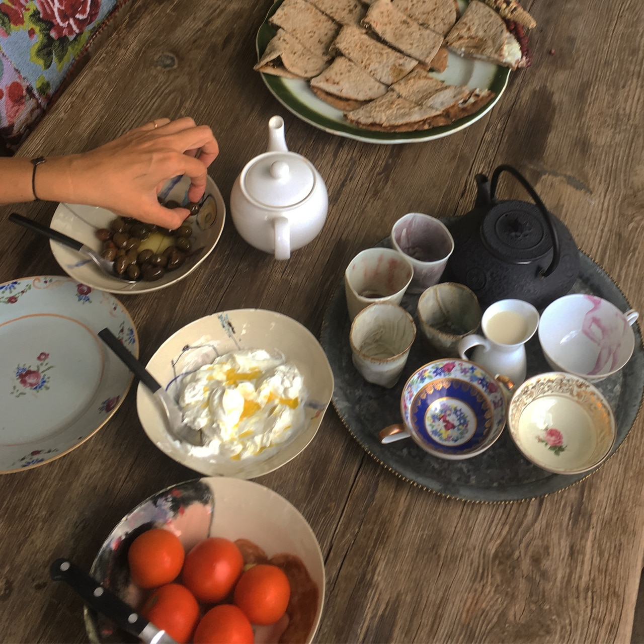Beirut, breakfast, and lebanese food image