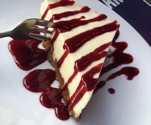 cake, food, and cheesecake image