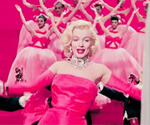 Gentlemen Prefer Blondes, gif, and Marilyn Monroe image