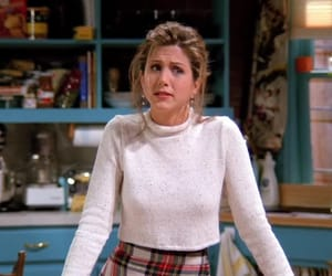 friends, girl, and rachel green image