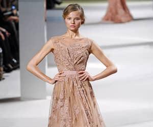 elie saab, Magdalena Frackowiak, and runway image