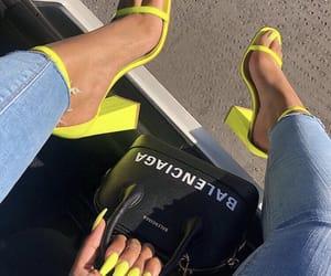 nails, fashion, and Balenciaga image