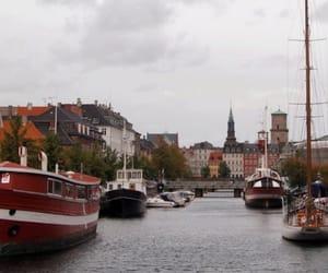 city, copenhagen, and danish image