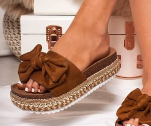 flat sandals, sliders, and slipers image