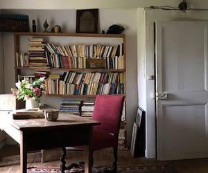 books, coffee, and design image