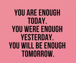 be, enough, and motivation image
