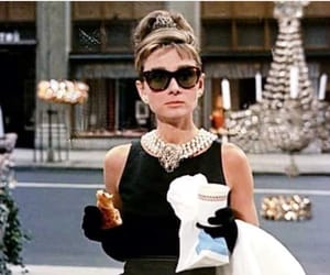 audrey hepburn, Breakfast at Tiffany's, and movie image