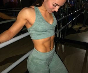 abs, body, and brunette image