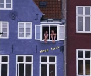 love, couple, and blue image
