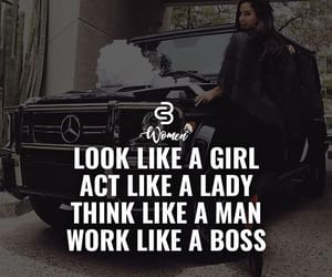 boss, girl, and lady image