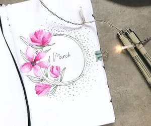 blogger, creative, and flowers image