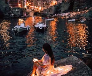 amazing, boats, and fairy lights image