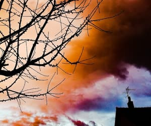 sky, spring, and vibrant image