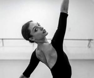 ballet, black and white, and classy image