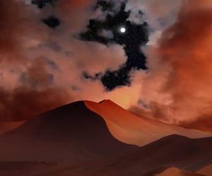 stars, travel, and desert image
