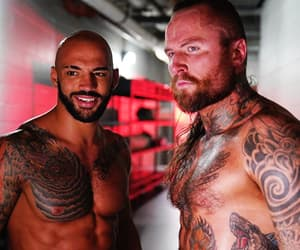 ricochet, trevor mann, and wwe image