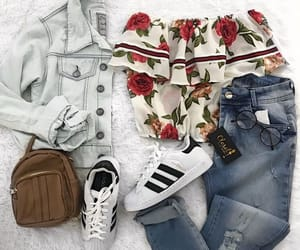 adidas, outfit, and outfitoftheday image