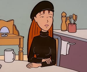 Daria, 90s, and aesthetic image