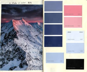 aesthetic, colors, and paint image