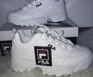 shoes, fashion, and Fila image