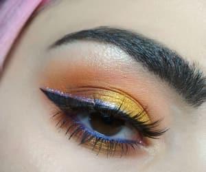 blue, colors, and eyelashes image