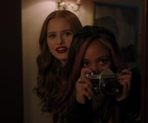 riverdale, vanessa morgan, and choni image