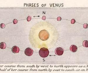 planet, Venus, and sun image