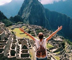 machu picchu, peru, and travel image