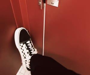 aesthetic, bathroom, and black image