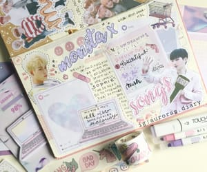 aesthetic, journaling, and kpop image