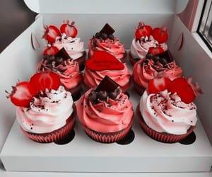 cupcake, korean, and theme image