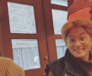 mark lee, brown aesthetic, and fall aesthetic image