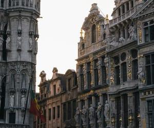 architecture, city, and belgium image