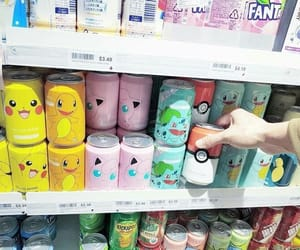 pokemon, drink, and japan image