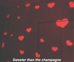aesthetic, champagne, and cherry image