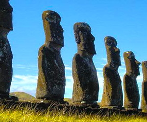 chile, south america, and easter island image