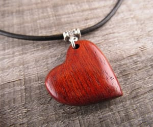 etsy, leather necklace, and simple necklace image