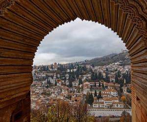 buildings, europe, and Granada image