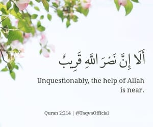 allah, beautiful, and help image