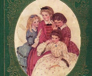book, little women, and louisa may alcott image