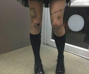 dark, fashion, and gothic image