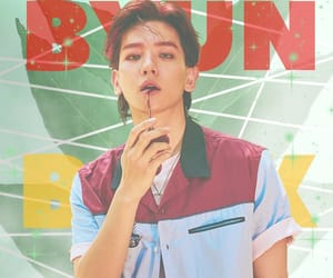 exo, byun baekhyun, and kpop image