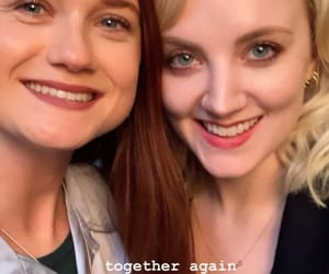 actress, bonnie wright, and evanna lynch image