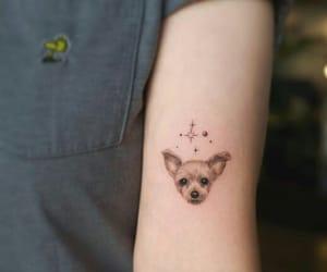 art, dog, and ink image