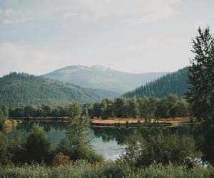 nature and lake image