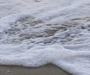 beach, movement, and nature image