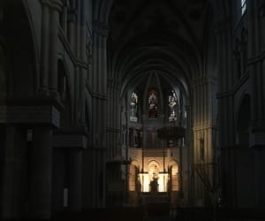 ancient, black, and church image