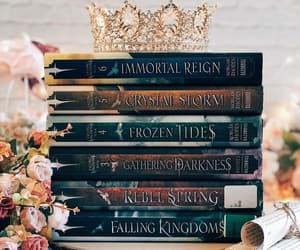 crown, immortal reign, and books image